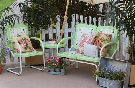 retro patio furniture summerland vintage patio furniture mint town country event rentals