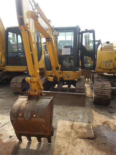 komatsu pcmr   ton mini excavator  sale