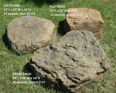 fake rock septic lid cover rocks cover  unsightly