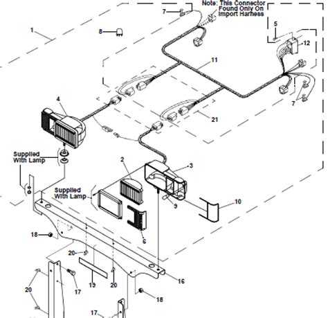 Plow Light Wiring Diagram by 96106691 Early Snoway Right Passengers Snow Plow Light