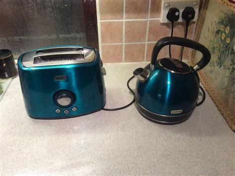 teal kettle and toaster set breville teal colour kettle and toaster set in