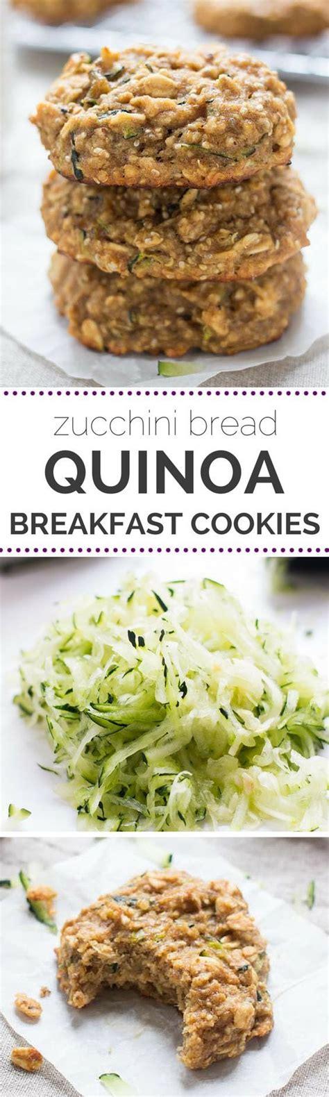 cuisiner le sarrasin zucchini bread quinoa breakfast cookies recette