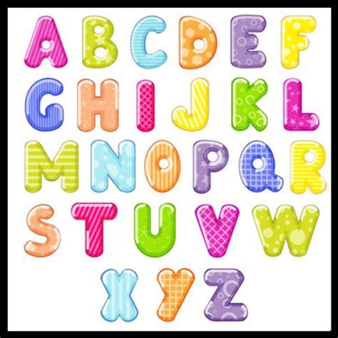 27 colorido alfabeto letras letras colores alfabeto de arco
