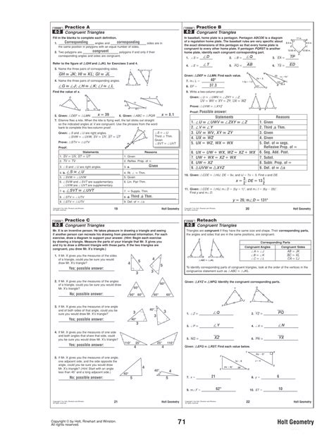 Right triangles & trigonometry name: Solving right triangles worksheet lesson 8 3