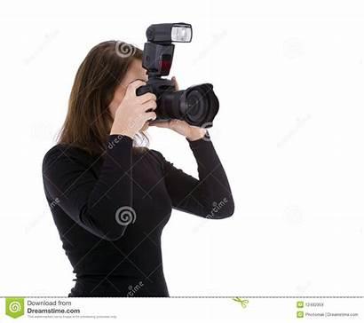 Photographer Camera Professional Female Lady Royalty