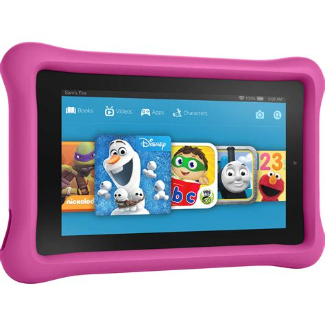 """Kindle 7"""" Fire Kids Edition Tablet (Pink) B018Y226XO B&H"""