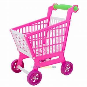 Mini Shopping Cart Holder Toddler Pretend Play Development ...