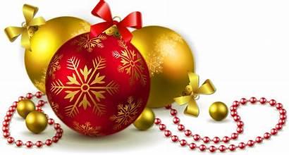 Christmas Balls Transparent Gold Clipart Bangkok