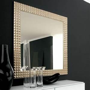 le grand miroir mural 25 idees pour d39arrangement et With grand miroir contemporain