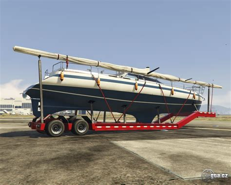 Gta 5 Big Boat by Trailer Big Boat Trailer Gta V Grand Theft Auto 5