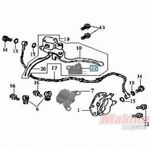 35350kbn900 Rear Brake Switch Sym Gts