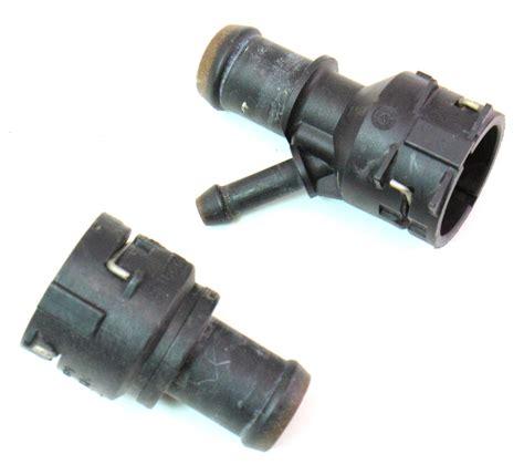 heater core coolant hose flange   vw passat   bpy