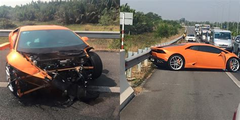 Lamborghini Huracan Crashes In Vietnam Gtspirit