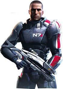 mass effect images commander shepard hd wallpaper and background photos 38099613