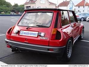 Voiture Occasion Renault : renault r5 turbo 2 1982 occasion auto renault r5 ~ Medecine-chirurgie-esthetiques.com Avis de Voitures
