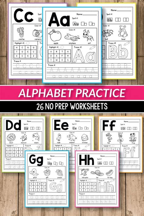 alphabet worksheets primary  alphabet printable