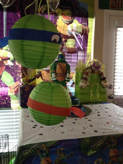 ninja turtle party decorations anden pinterest