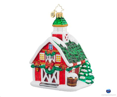 1017866 christopher radko country christmas ornament
