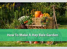 How To Make A Hay Bale Garden The Good Human