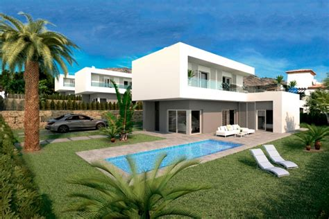 villa moderne a vendre villa moderne avec piscine 224 vendre cortina finestrat