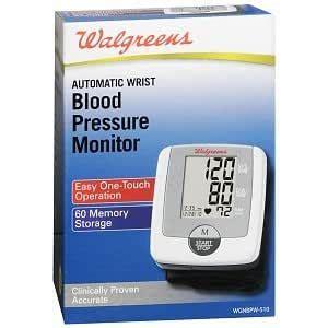 Amazon.com: Walgreens Wrist Automatic Blood Pressure