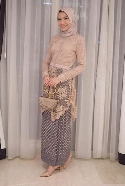 model kebaya hijab  tubuh kurus  enggak  bikin