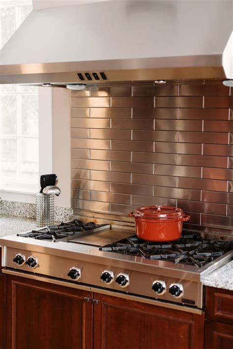 20 Stainless Steel Kitchen Backsplashes  Hgtv. Kitchen Design Principles. Royal Kitchen Menu. Best Faucets For Kitchen. Curtain For Kitchen. Kitchen Number 1 Georgetown. Patio Kitchens Design. Kitchen Faucets Clearance. Tiled Kitchen Backsplash