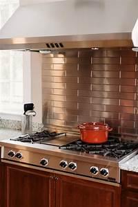 kitchen back splashes 20 Stainless Steel Kitchen Backsplashes | HGTV