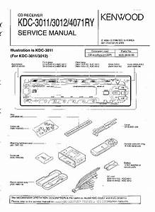 Kenwood Model Kdc Wiring Diagram Kdc 3011