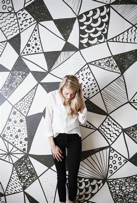 Salle De Papier Peint Noir Et Blanc : Le Papier Peint Noir Et Blanc Est Toujours Un Singe D