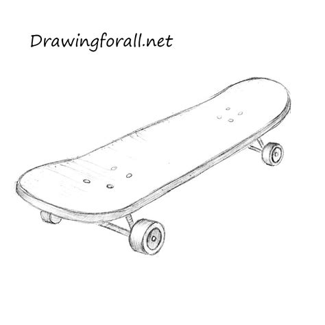 draw  skateboard drawingforallnet