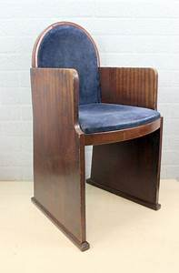 Art Deco Stuhl : art deco amsterdam school stuhl catawiki ~ Eleganceandgraceweddings.com Haus und Dekorationen