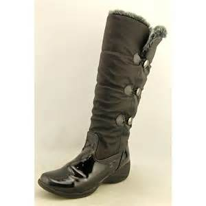 womens winter boots size 9 khombu flurry womens size 9 black winter boots no box