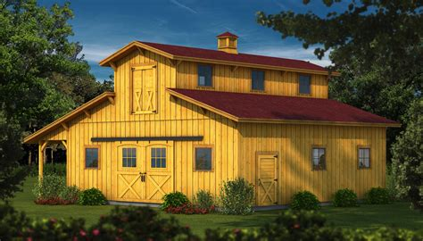 Barn Kits by Southland Launches Classic Wood Barn Kits