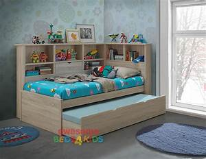 Ballini Single Trundle Bed Trundle Beds Single Bed