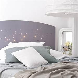Idee Deco Tete De Lit : une t te de lit lumineuse marie claire ~ Melissatoandfro.com Idées de Décoration