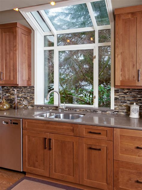 kitchen designs with window sink photos hgtv 9358