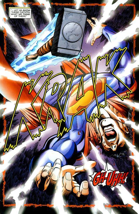 thor vs superman jla avengers