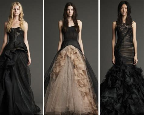 Black Wedding Dresses! Yes Or No!?