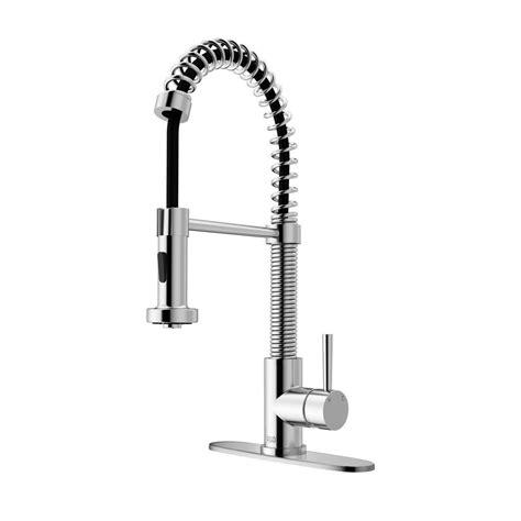 vigo kitchen faucets vigo single handle pull out sprayer kitchen faucet with