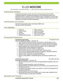 cna resume skills exles skills for cna resume best resume gallery