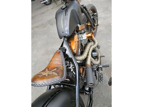 custom bobber motorcycle build  blitzkrieg bobber