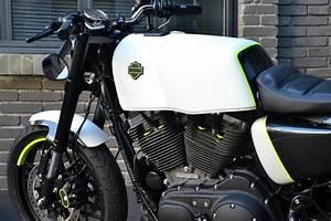 Racing Caf U00e8  Harley Sportster Roadster 1200  U0026quot Concept U0026quot  By H-d Limoges