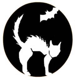 Cat Bat Pumpkin Carving Stencils