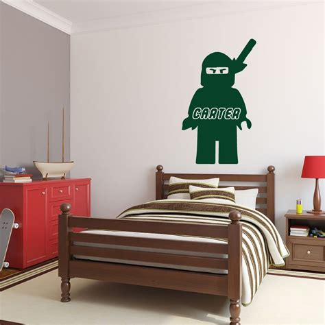 personalized wall decal lego ninjago