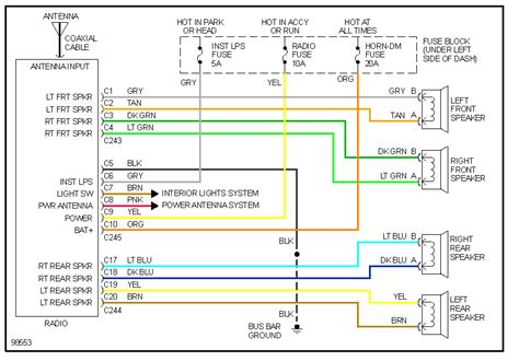 2008 Chevy Silverado 2500 Stereo Wiring Diagram by Wiring Diagrams Chevy Silverado 2007 Powerking Co