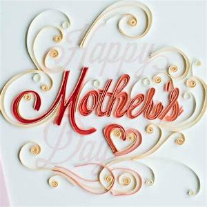 Mother's Day Quilling Card - Fair Trade Winds