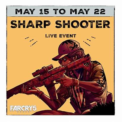 Far Cry Sharp Shooter Event Guide Events