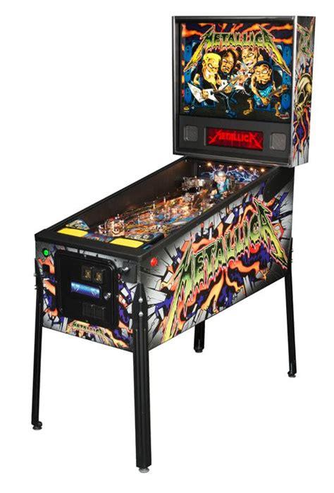 metallica pro pinball machine liberty