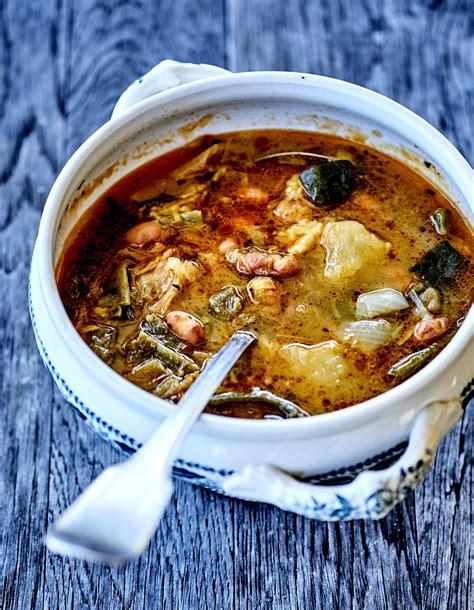 manger cru recettes cuisine soupe paysanne d été pour 4 personnes recettes à table